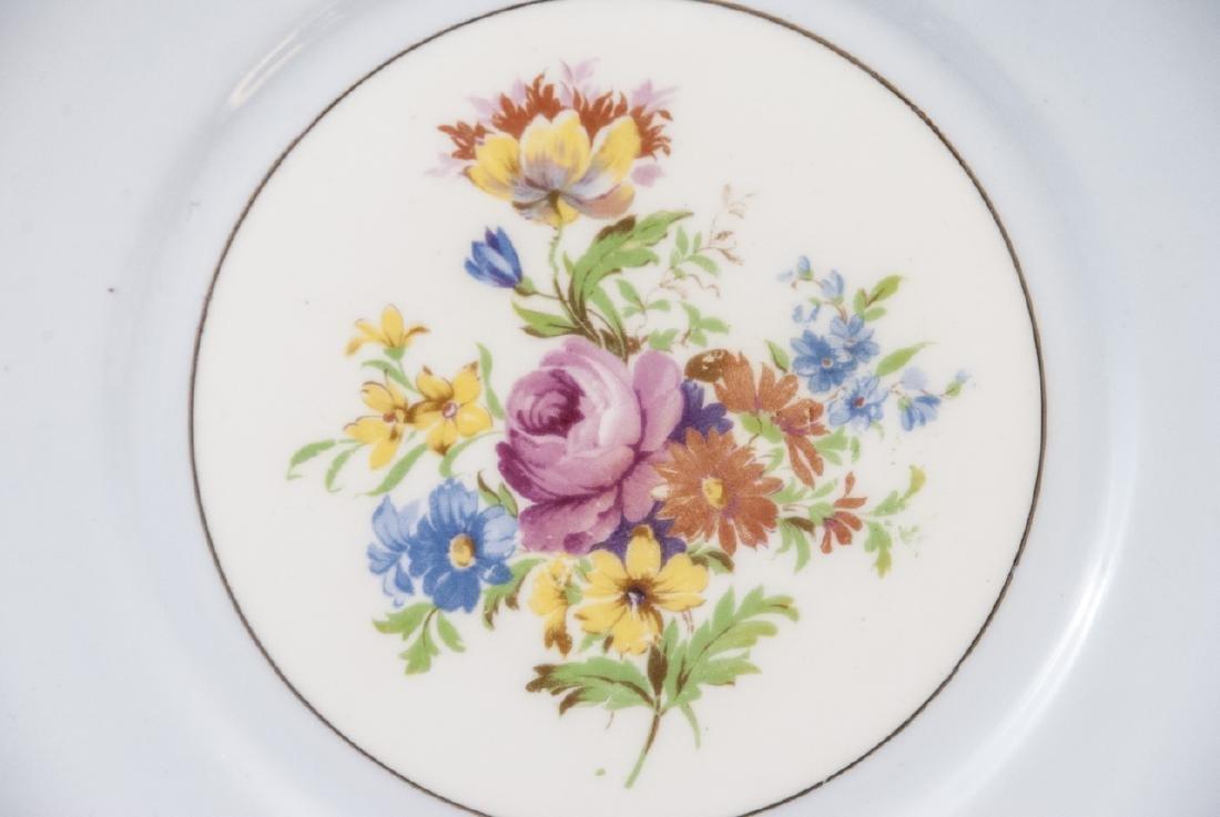 Lot of Porcelain Lunch / Salad Plates Incl. Minton - 6