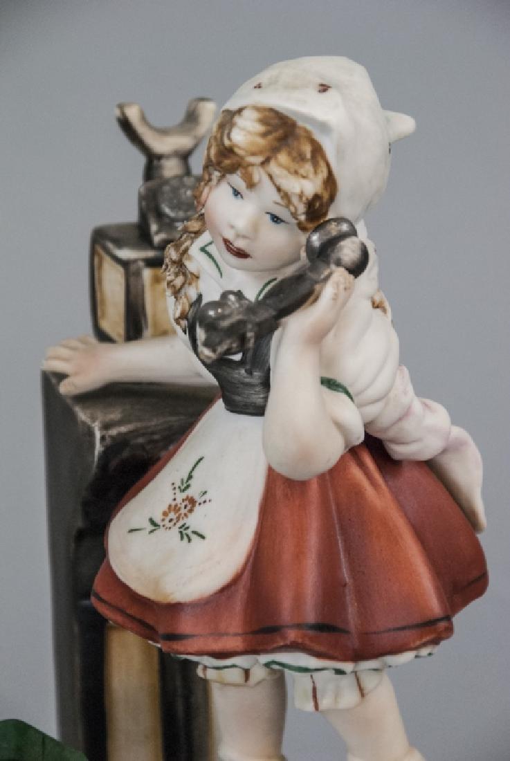 Capodimonte Meneghetti Bisque Porcelain Figurine - 2