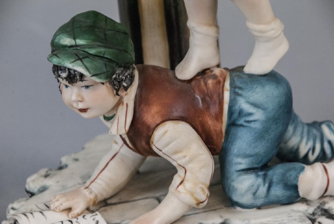 Capodimonte Meneghetti Bisque Porcelain Figurine - 3