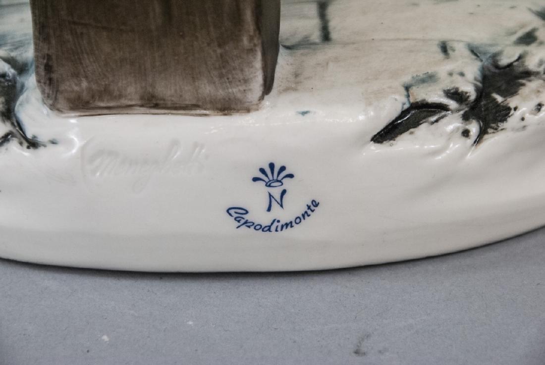 Capodimonte Meneghetti Bisque Porcelain Figurine - 5
