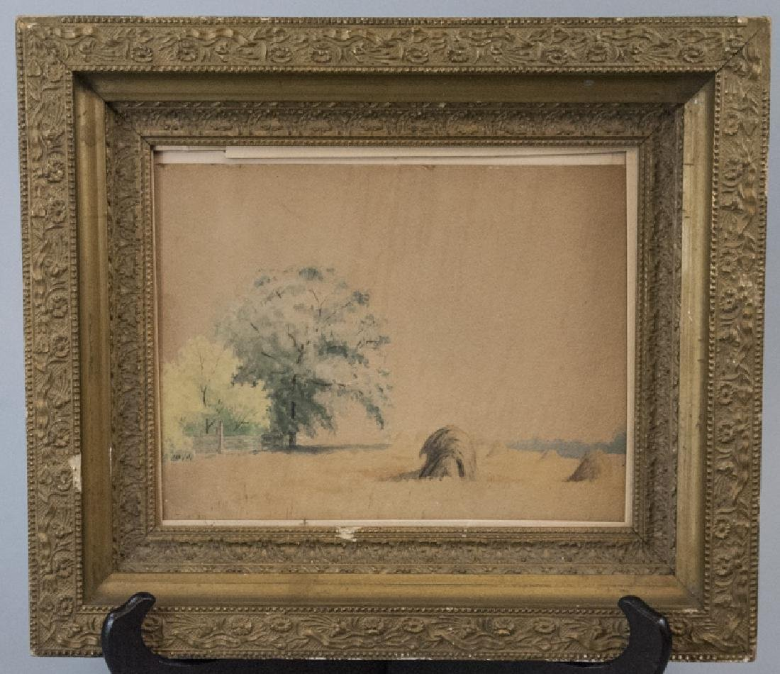 Antique 19th C Hudson River School Style Painting