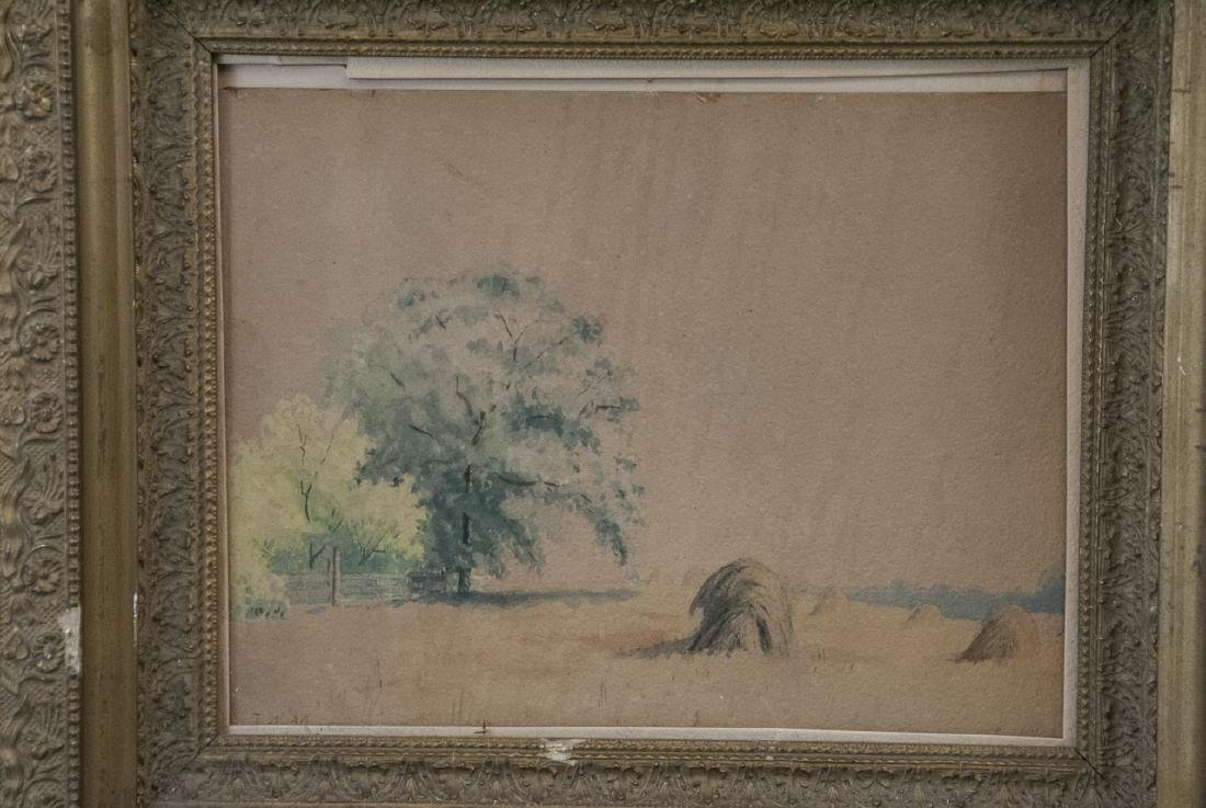 Antique 19th C Hudson River School Style Painting - 2