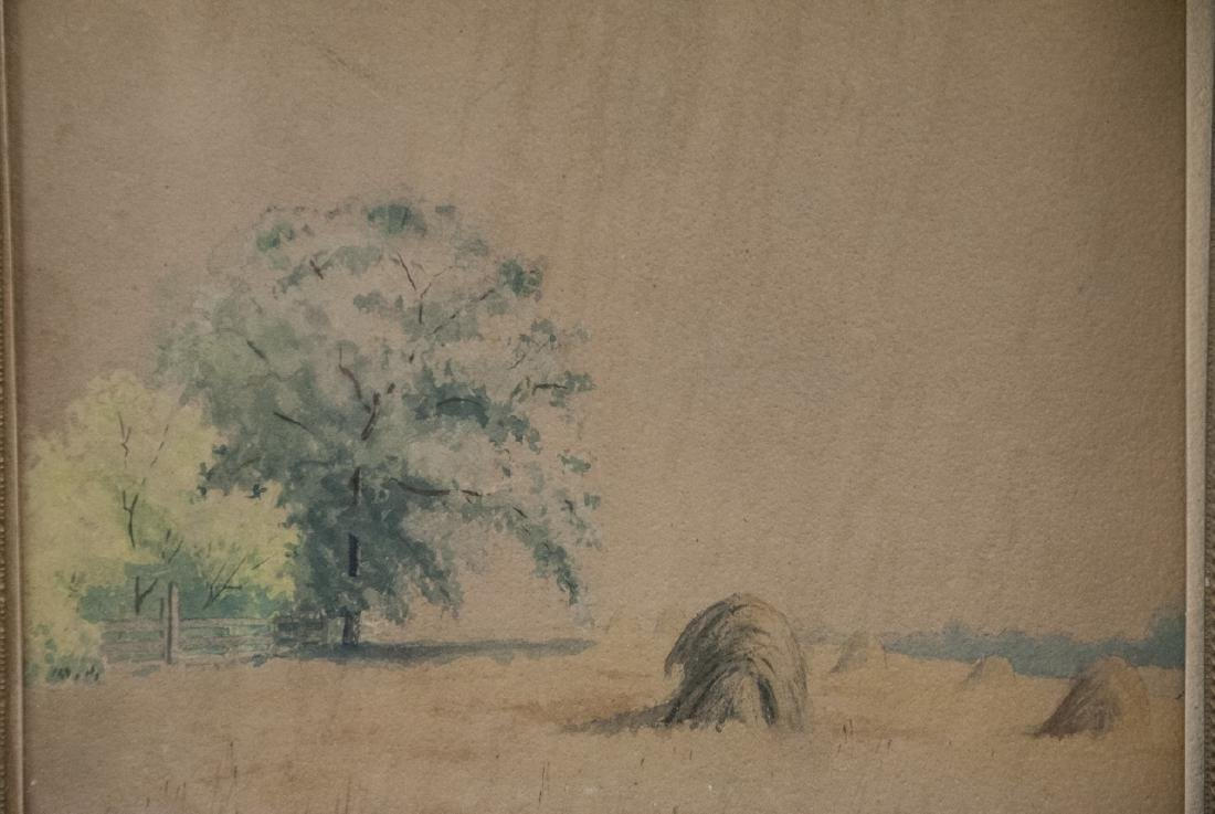 Antique 19th C Hudson River School Style Painting - 3