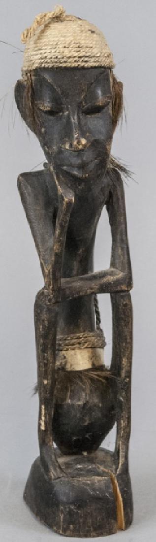 Hand Made Wooden African Tribal Figural Sculpture