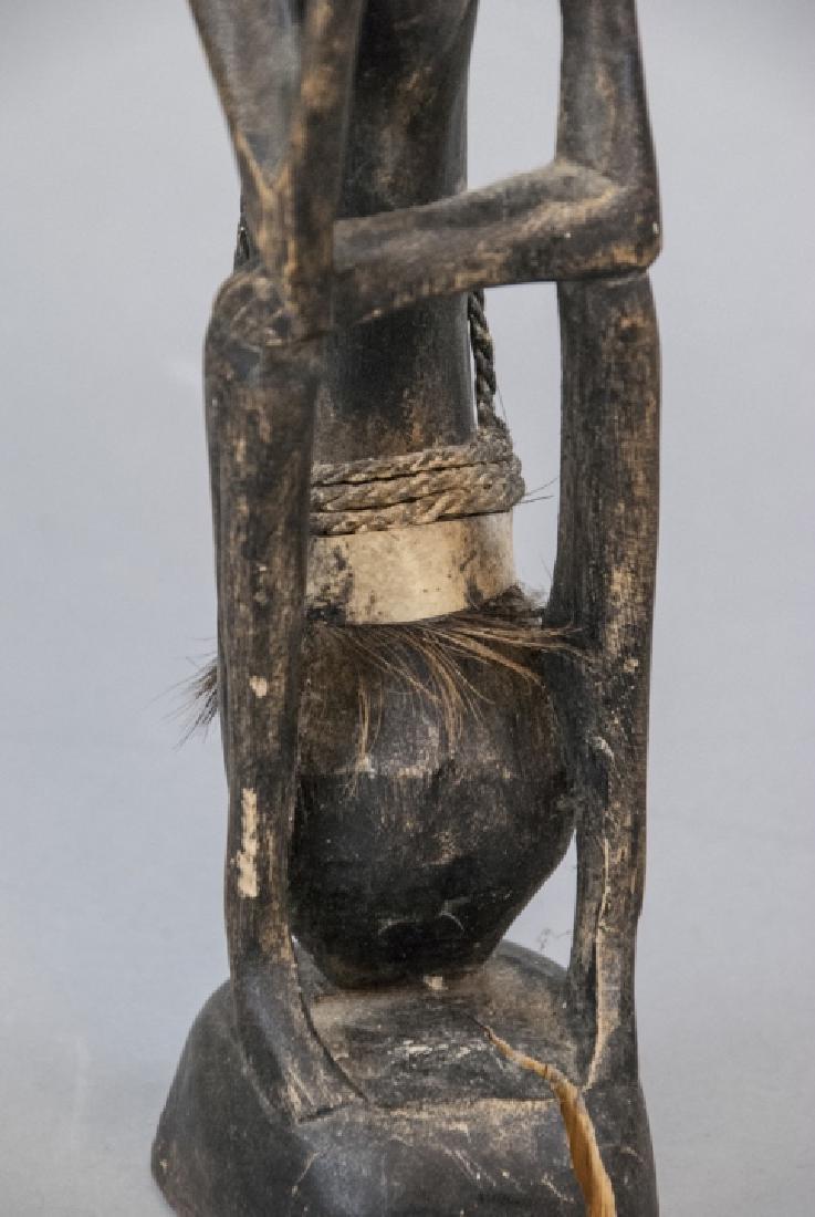 Hand Made Wooden African Tribal Figural Sculpture - 2