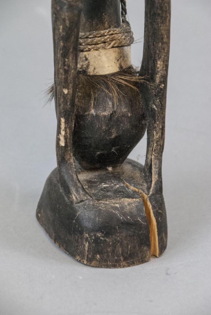 Hand Made Wooden African Tribal Figural Sculpture - 3