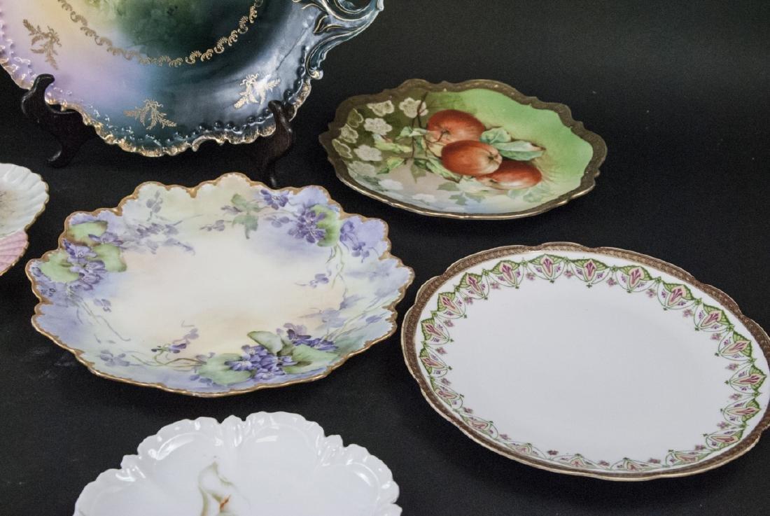 Collection of Antique Bavarian Porcelain Plates - 2