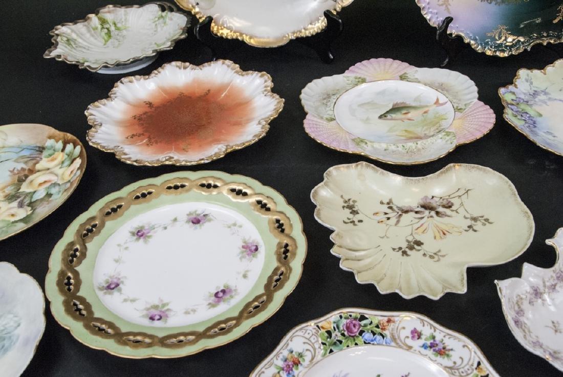 Collection of Antique Bavarian Porcelain Plates - 3