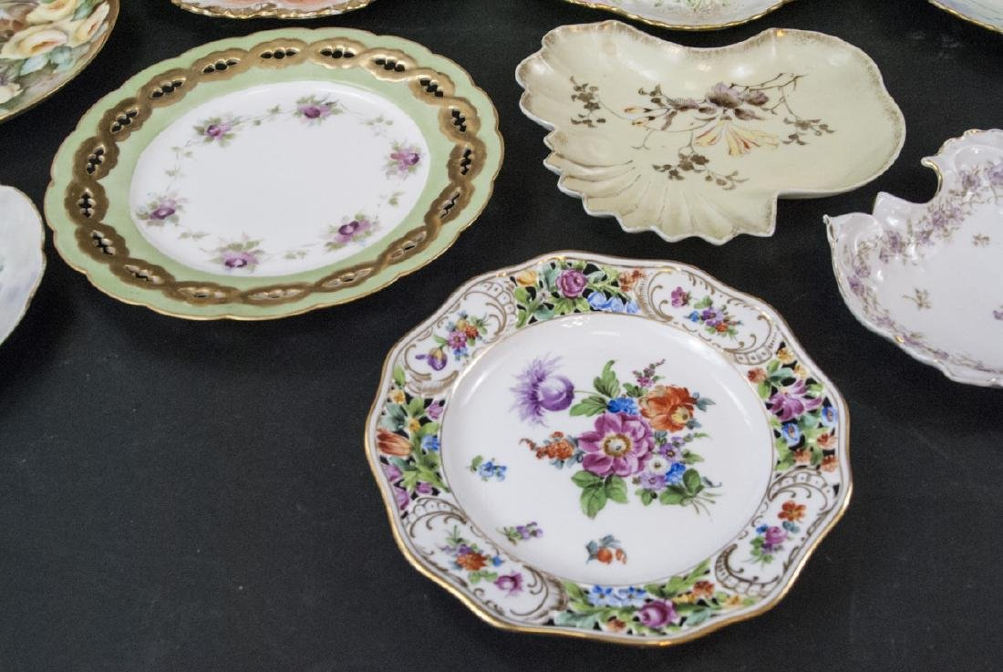 Collection of Antique Bavarian Porcelain Plates - 4
