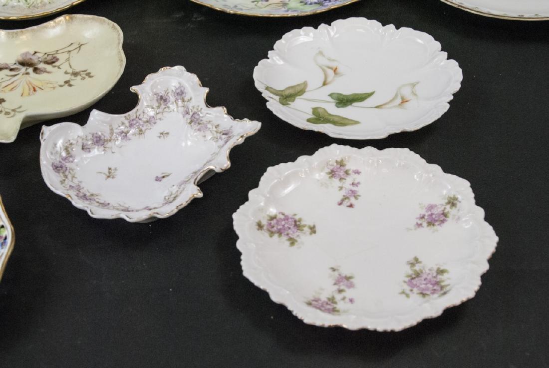 Collection of Antique Bavarian Porcelain Plates - 6