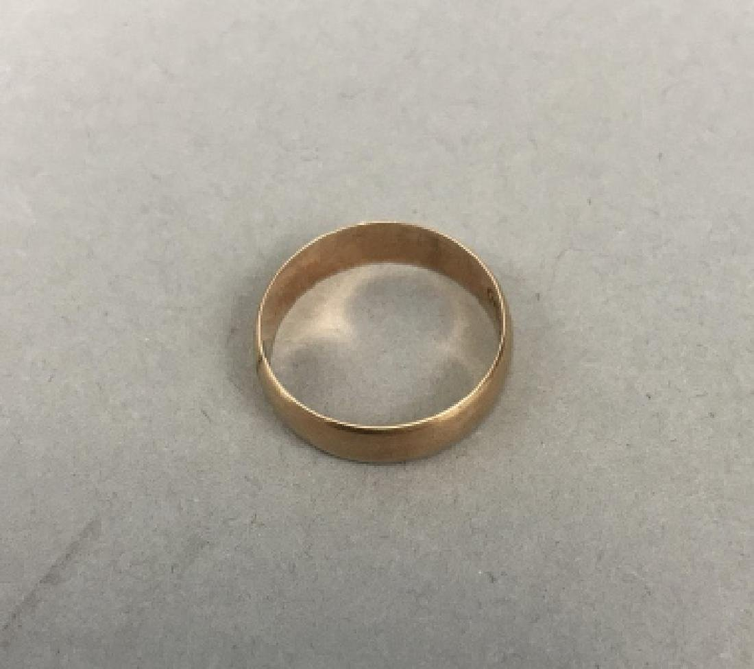 Estate 10kt Yellow Gold Ring / Band - 2
