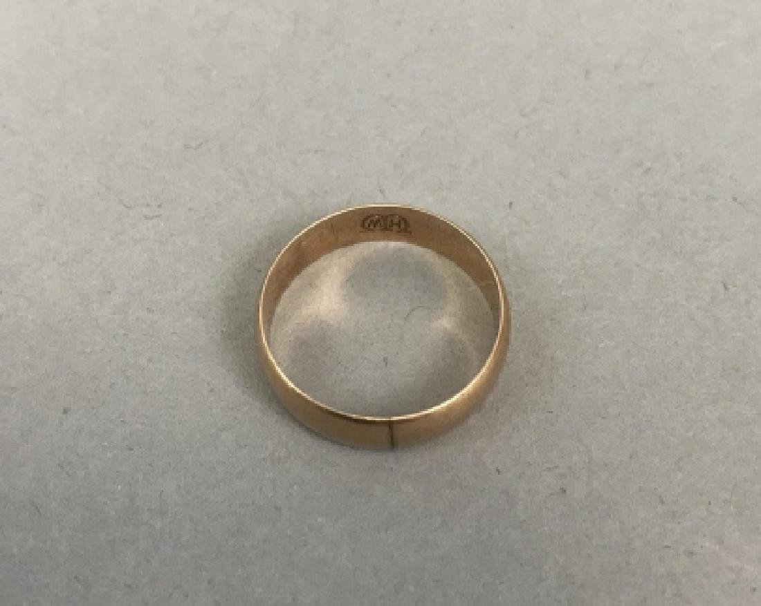 Estate 10kt Yellow Gold Ring / Band - 3