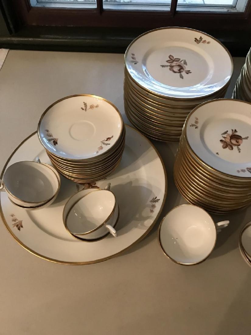 Royal Copenhagen Porcelain Dinner Service - 3
