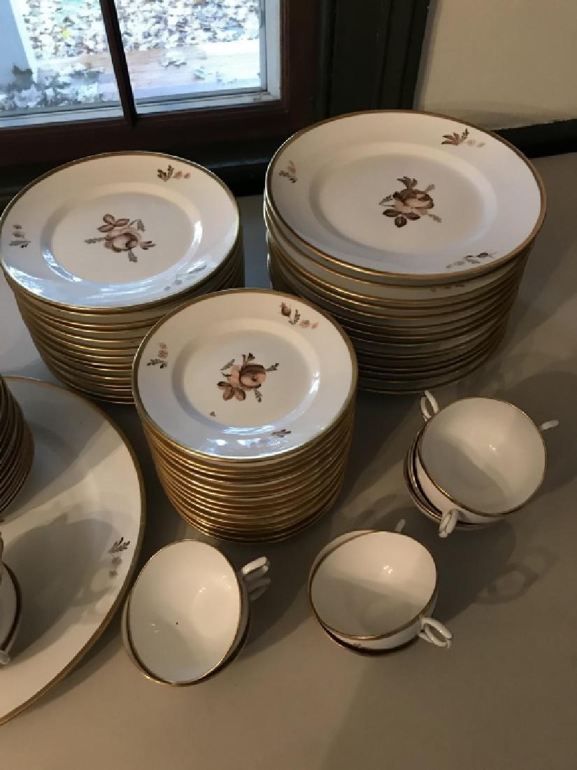 Royal Copenhagen Porcelain Dinner Service - 4