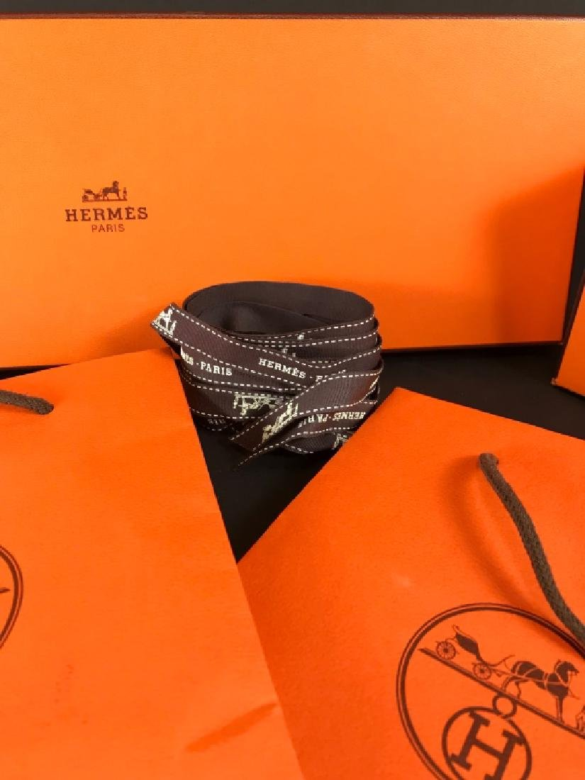 Two Hermes Boxes & Two Hermes Bags - 3