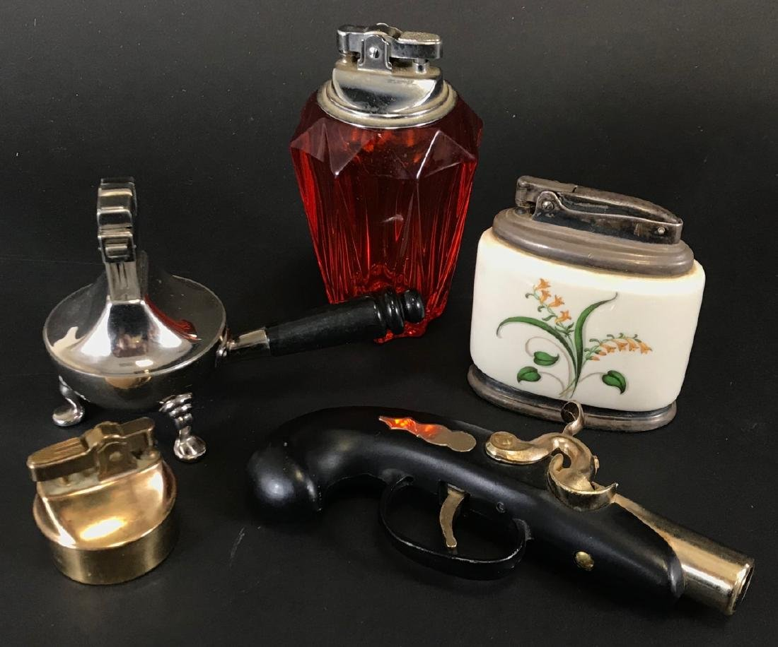 Collection of Decorative Vintage Lighters
