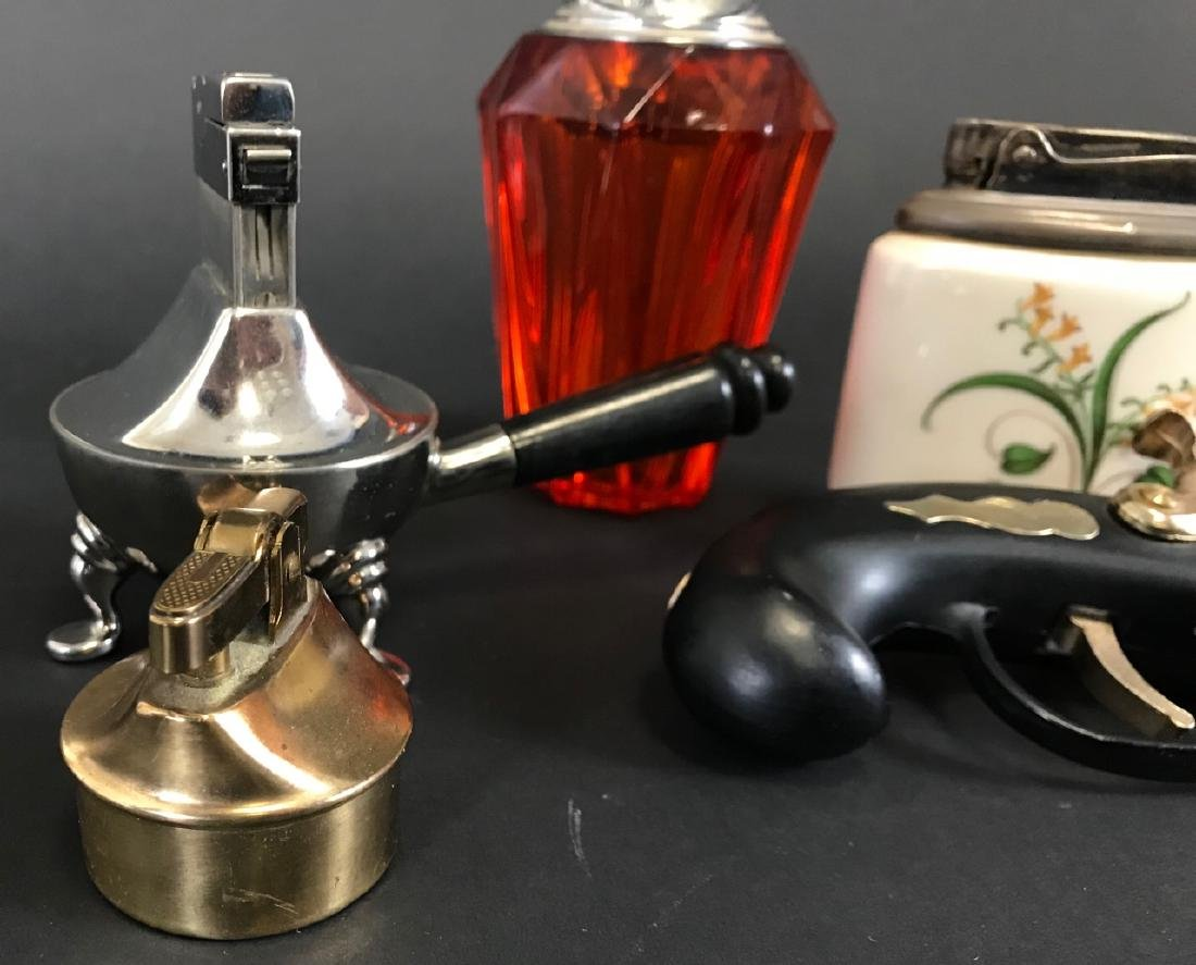 Collection of Decorative Vintage Lighters - 4