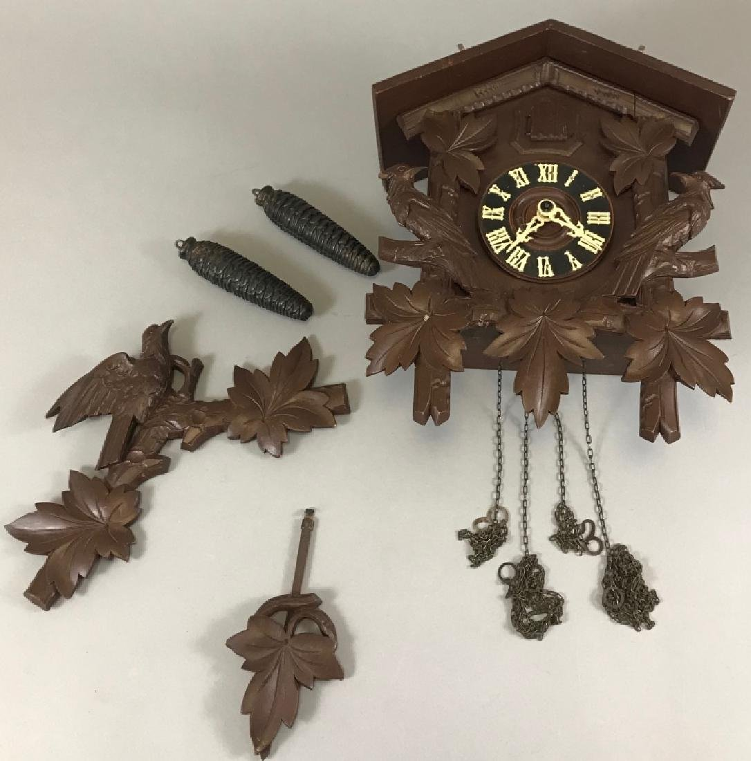 Black Forest Style Cuckoo Clock Regula Movement
