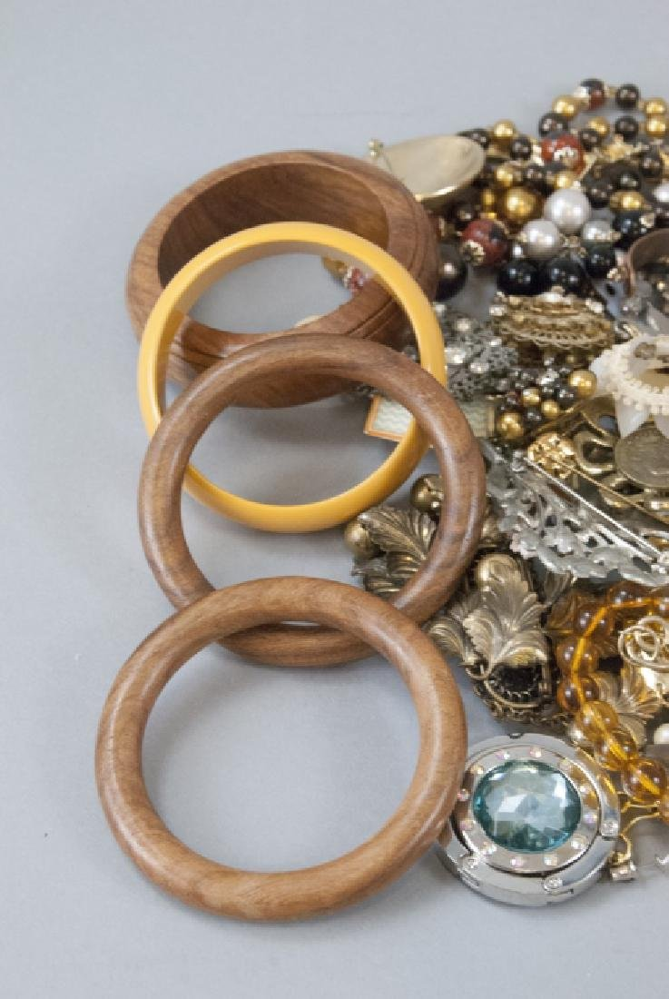 Large Lot of Vintage Costume Jewelry - 2
