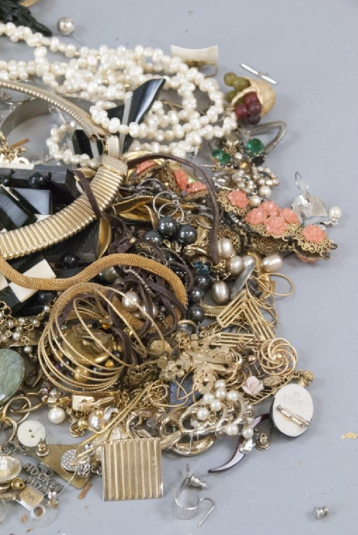 Large Lot of Vintage Costume Jewelry - 6