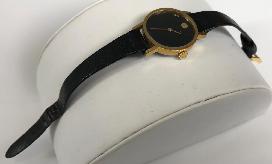 Vintage Movado Leather Ladies Wristwatch