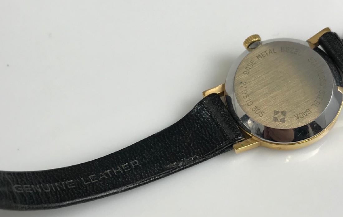 Vintage Movado Leather Ladies Wristwatch - 4