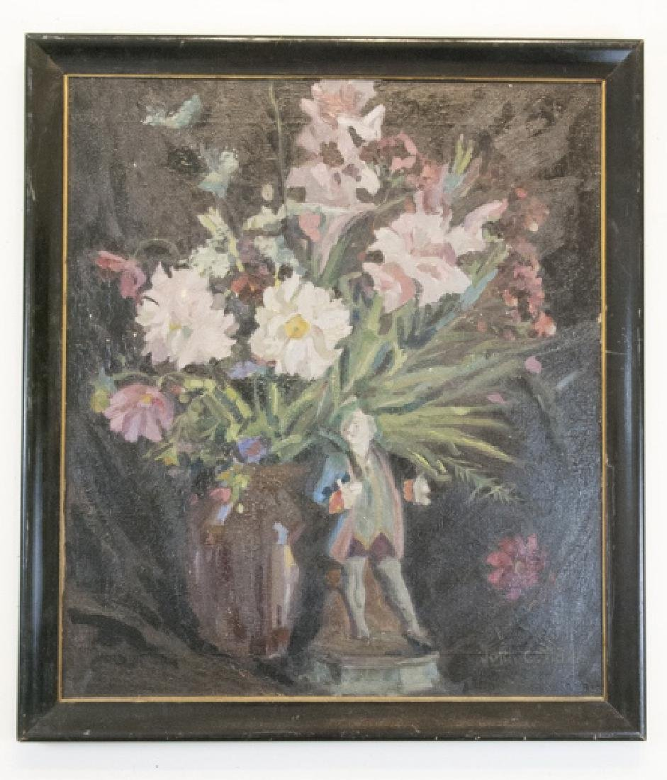 Original Signed Oil on Canvas Still Life Painting