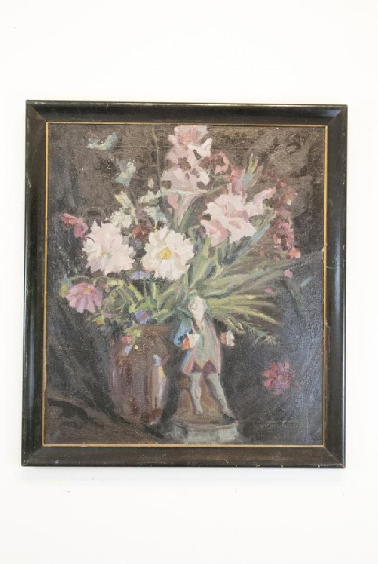 Original Signed Oil on Canvas Still Life Painting - 6