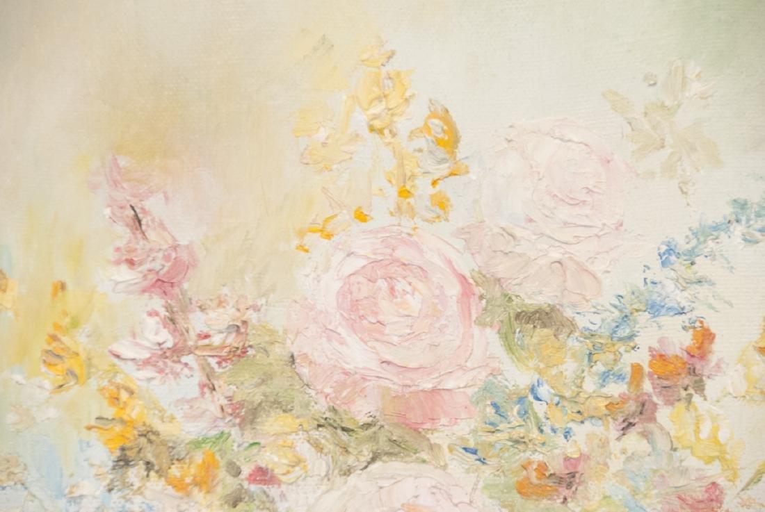 Original Signed Oil on Canvas Still Life Painting - 3
