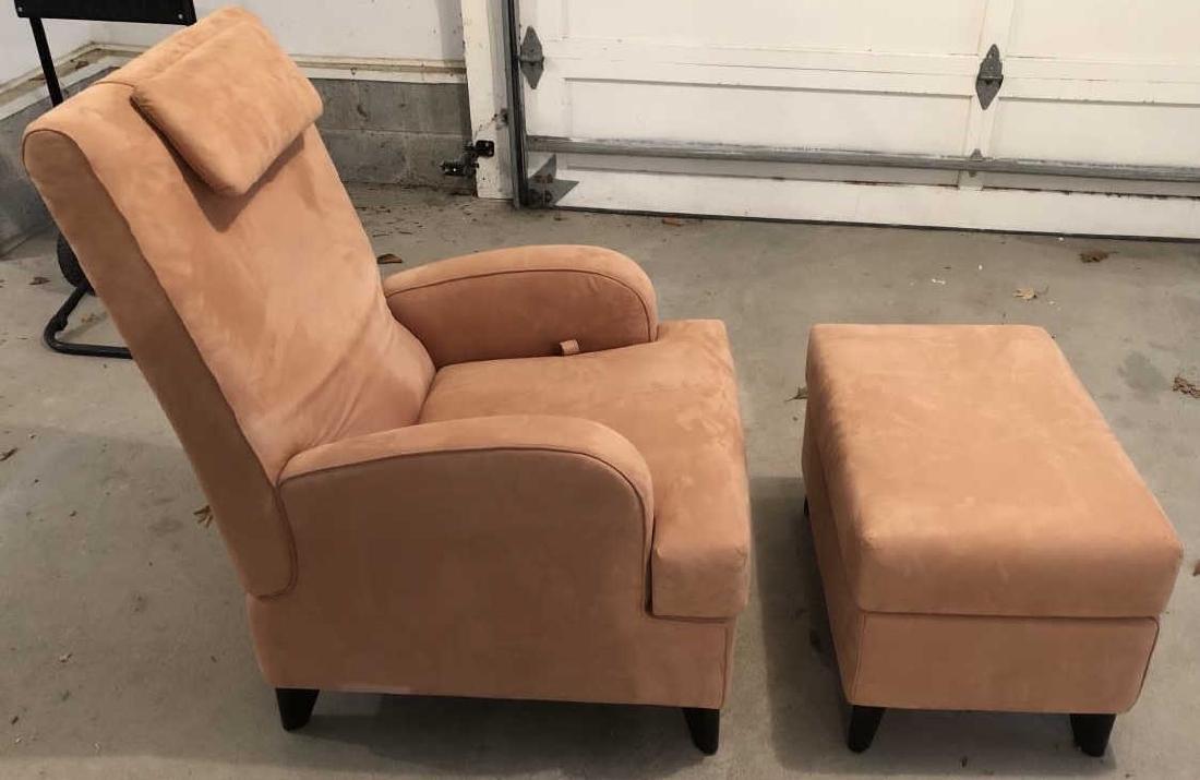 Wittmann Australia Lounge Chair and Ottoman