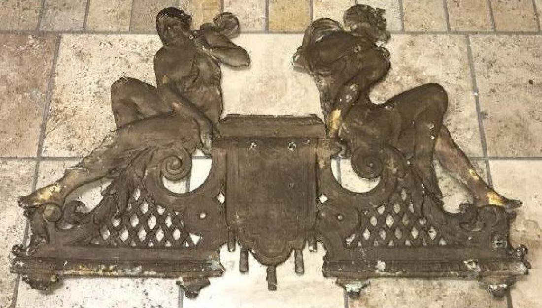 Cast Iron Neoclassical Architectural Salvage