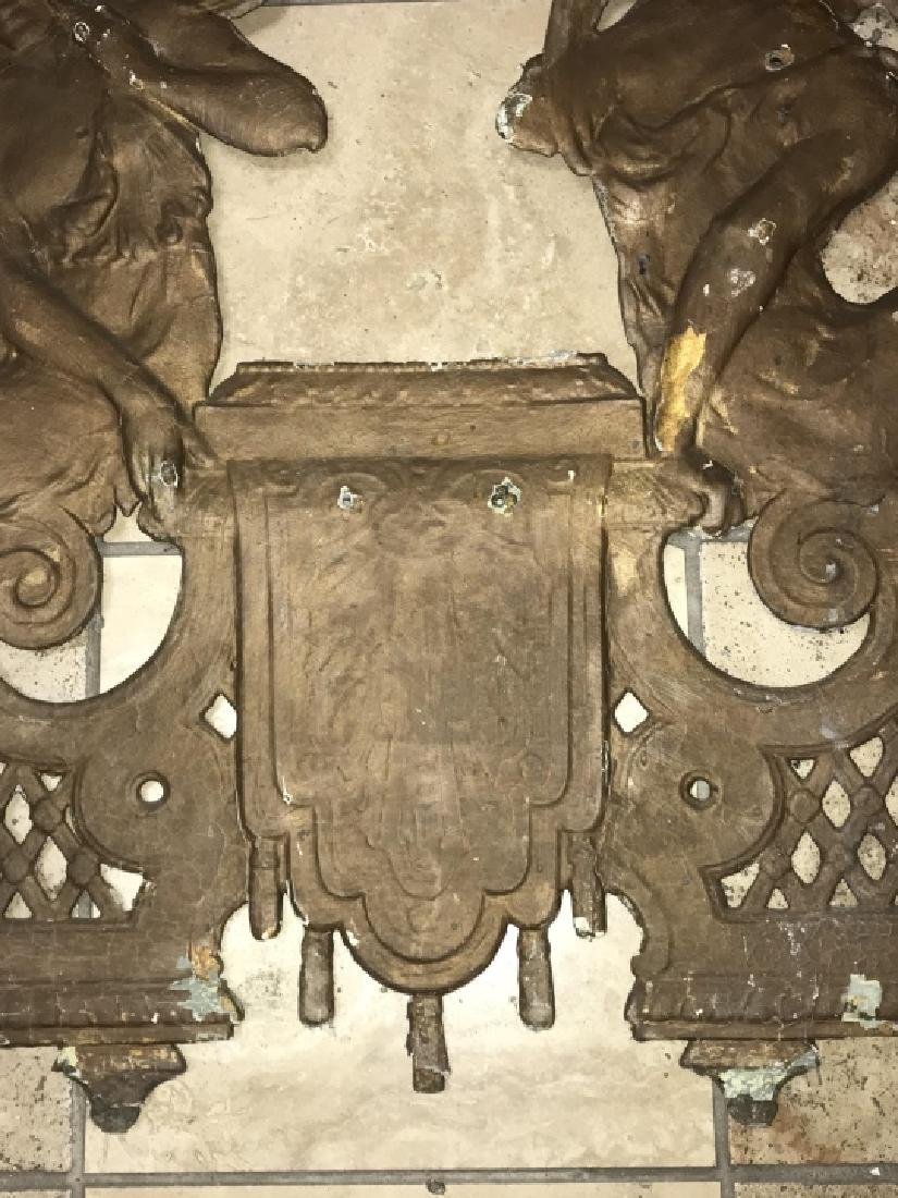 Cast Iron Neoclassical Architectural Salvage - 6