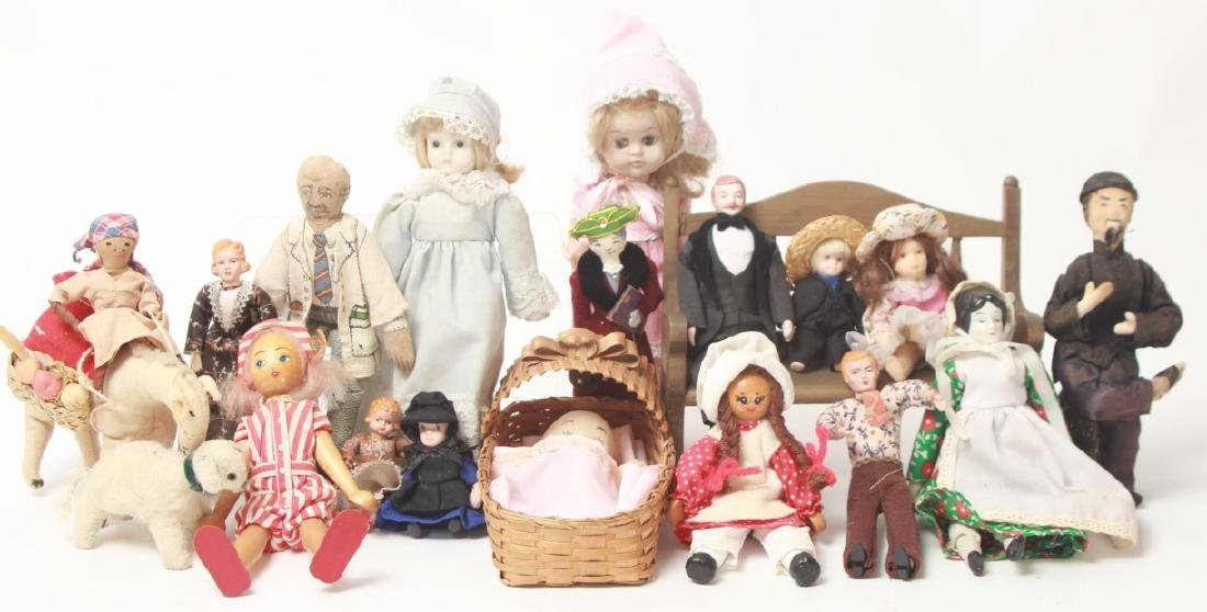 Collection Vintage Dolls - Dollhouse & Small Size