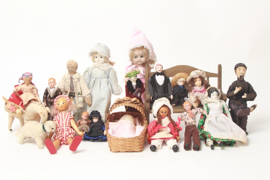 Collection Vintage Dolls - Dollhouse & Small Size - 2