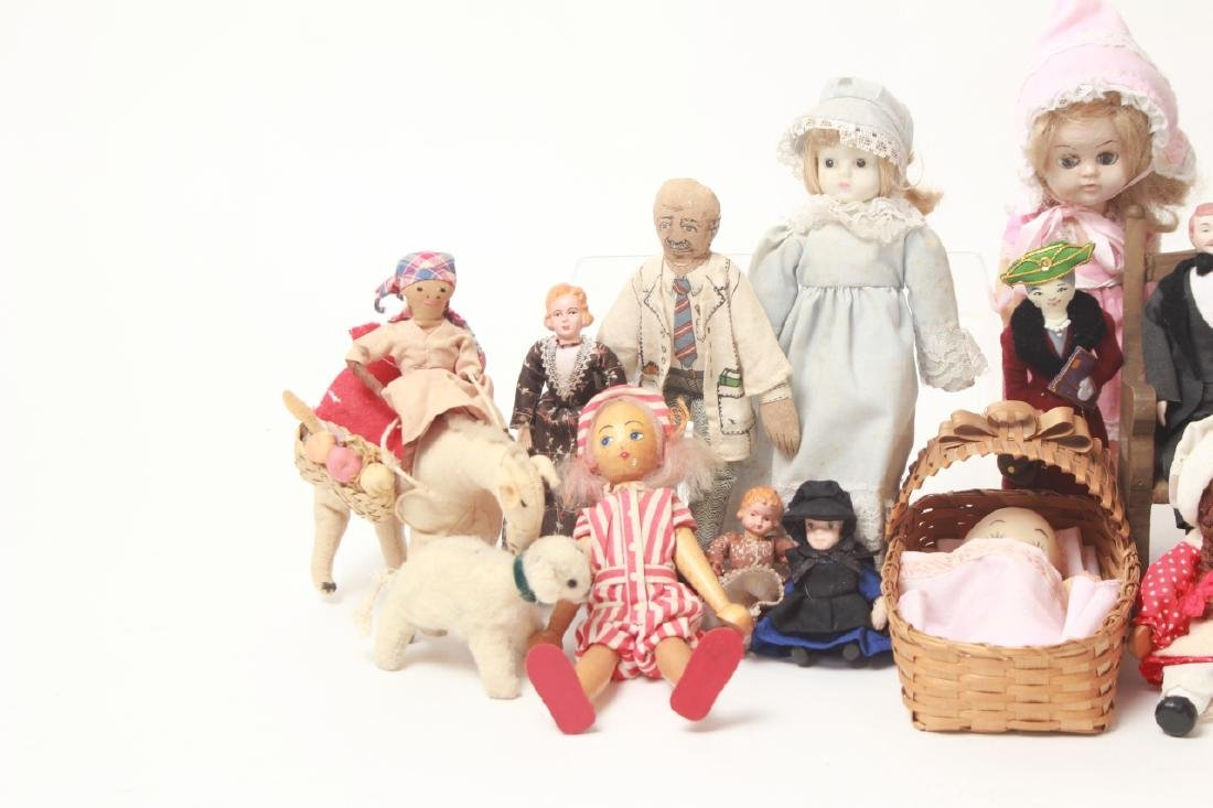 Collection Vintage Dolls - Dollhouse & Small Size - 3