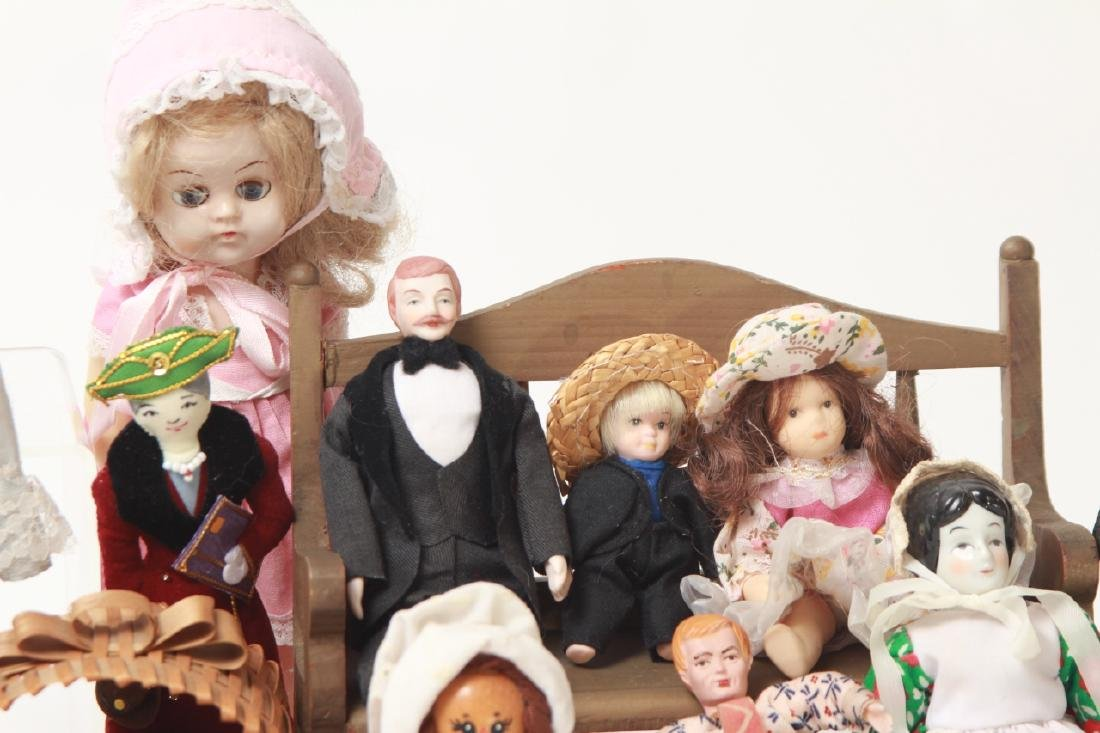 Collection Vintage Dolls - Dollhouse & Small Size - 6