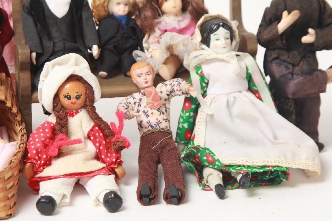 Collection Vintage Dolls - Dollhouse & Small Size - 7