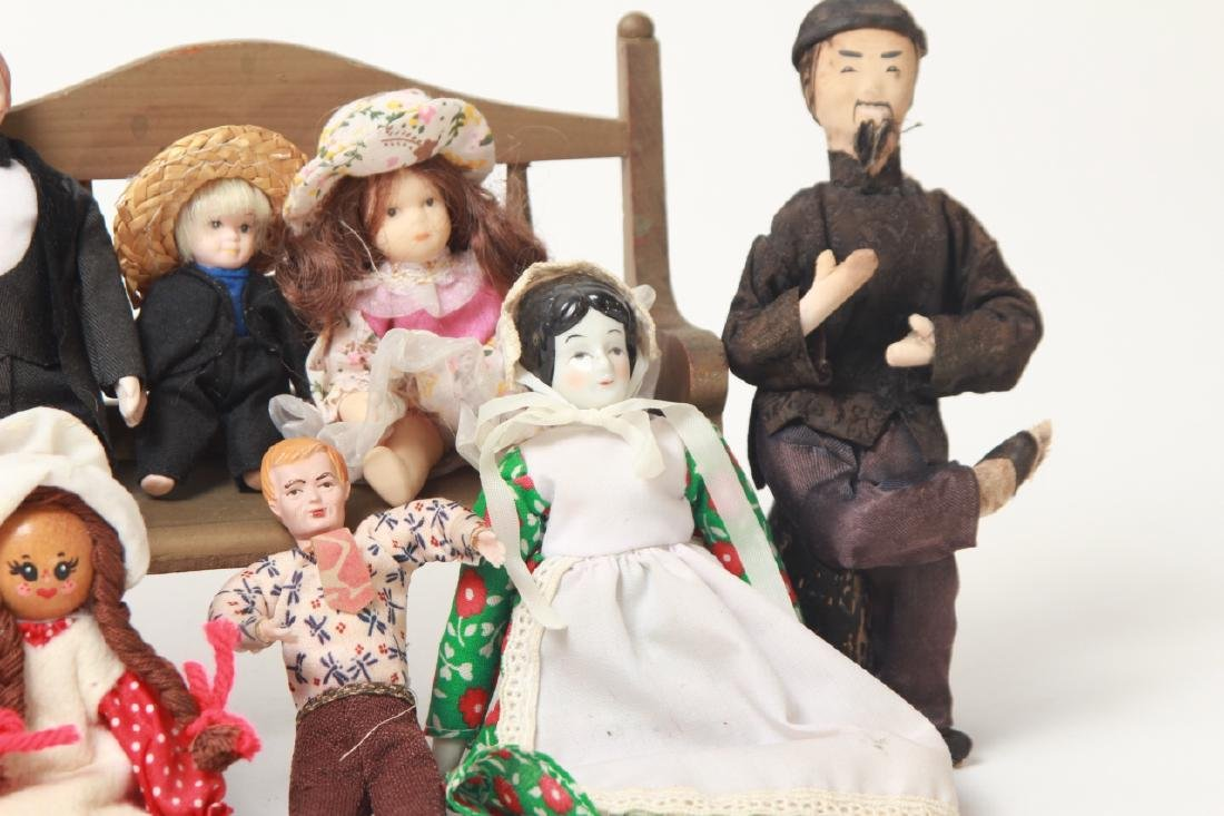 Collection Vintage Dolls - Dollhouse & Small Size - 8