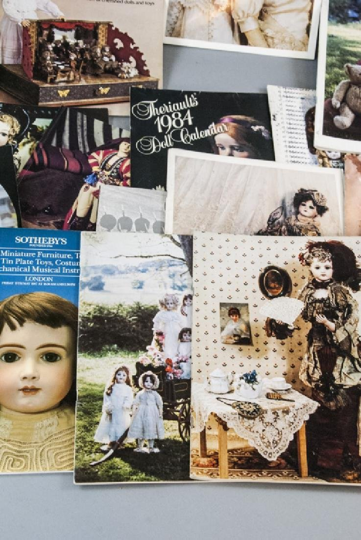 Collection Antique Doll Books & Auction Catalogs - 2
