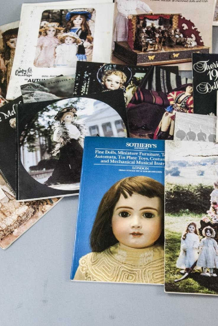 Collection Antique Doll Books & Auction Catalogs - 7