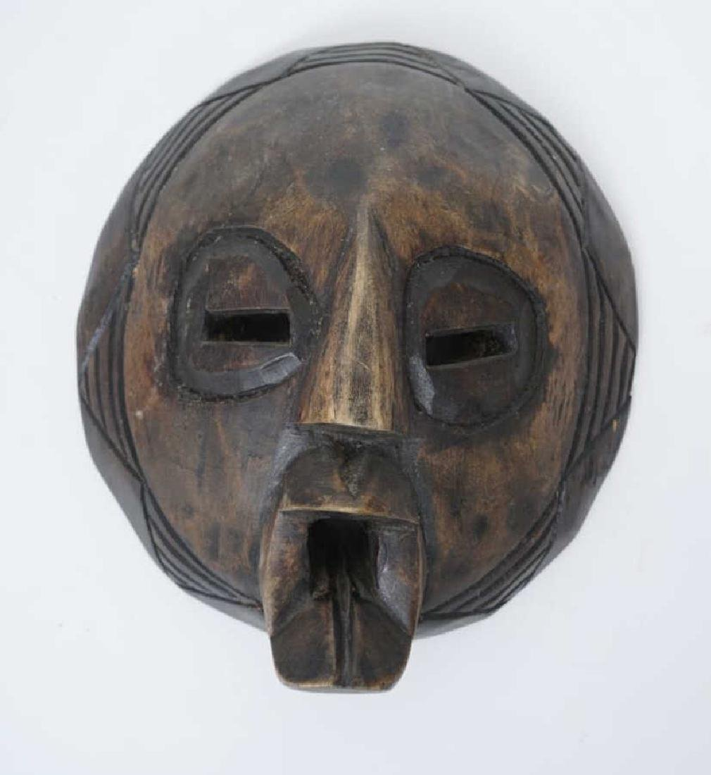 Collection of Vintage Hand Carved African Masks - 6