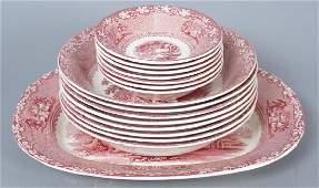 Royal Staffordshire Jenny Lind Ironstone Bowls