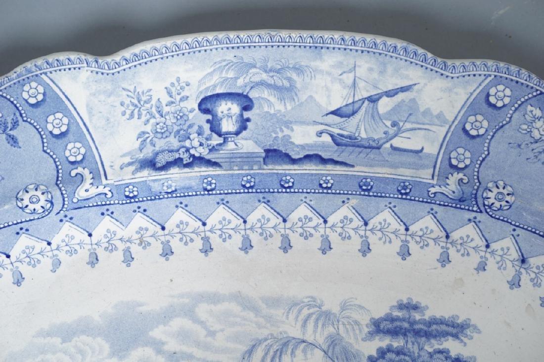 Antique Thomas Mayer Longport Ironstone Platter - 10