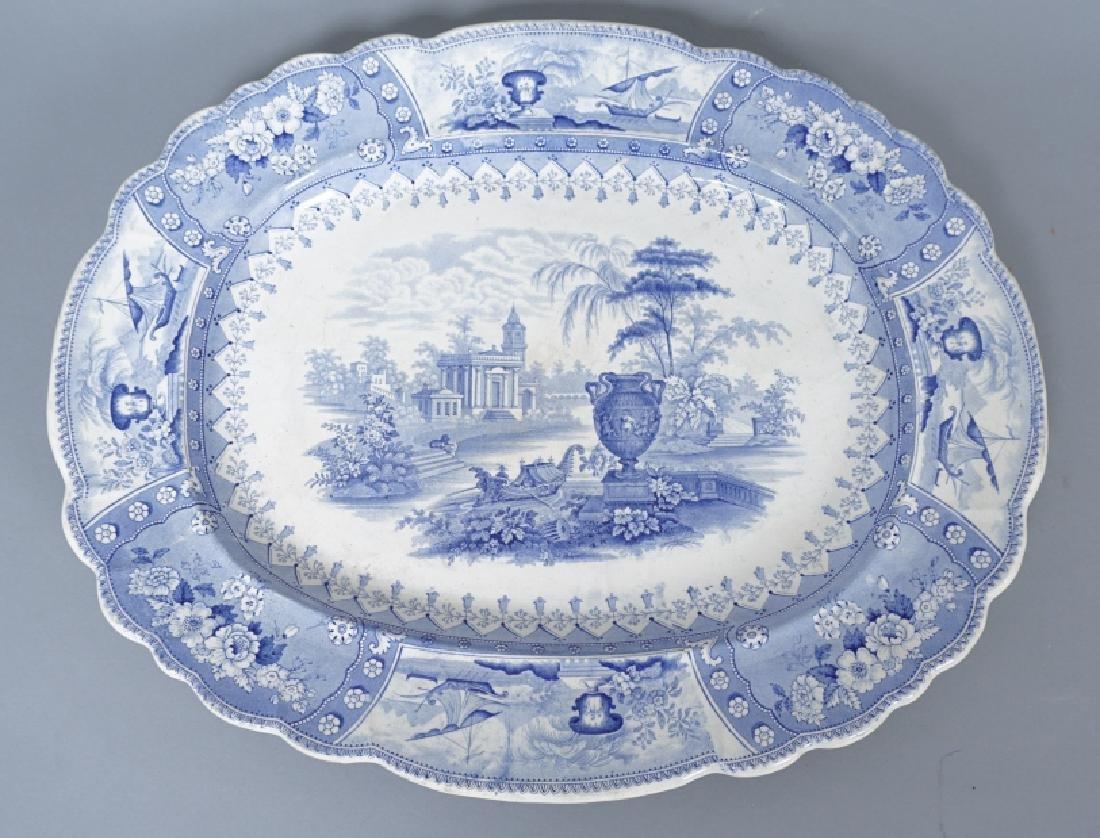 Antique Thomas Mayer Longport Ironstone Platter