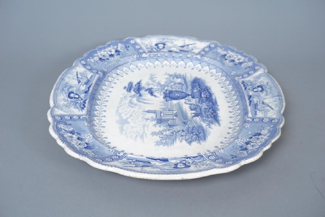 Antique Thomas Mayer Longport Ironstone Platter - 2