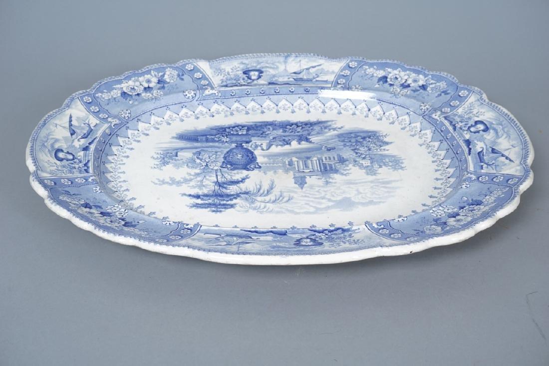 Antique Thomas Mayer Longport Ironstone Platter - 5