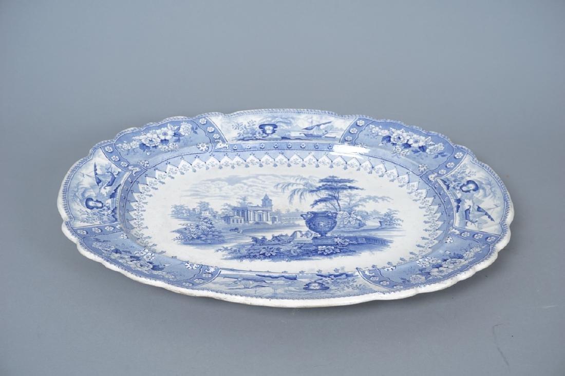Antique Thomas Mayer Longport Ironstone Platter - 8