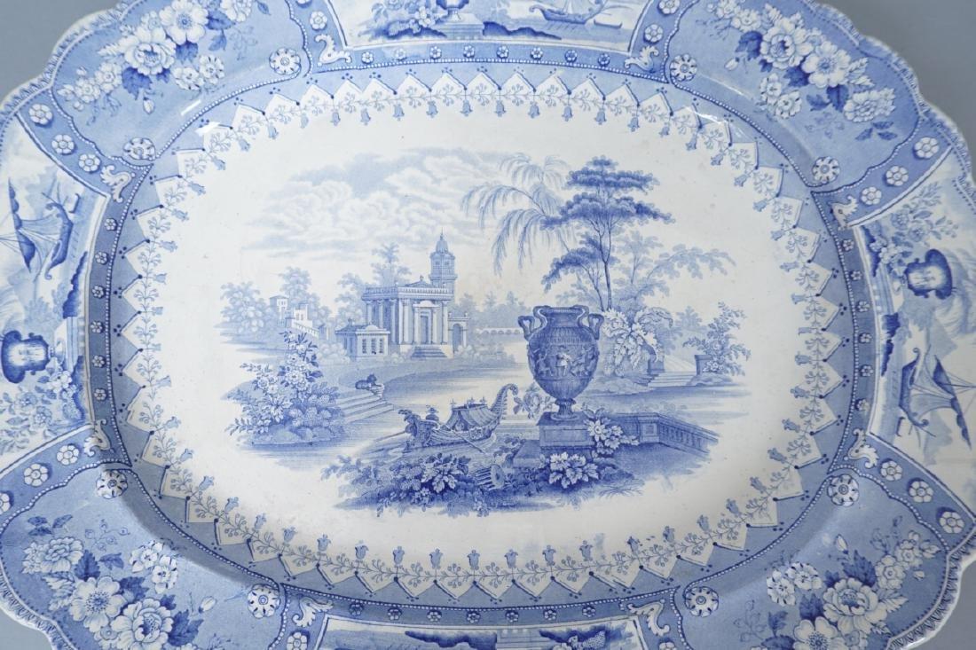 Antique Thomas Mayer Longport Ironstone Platter - 9