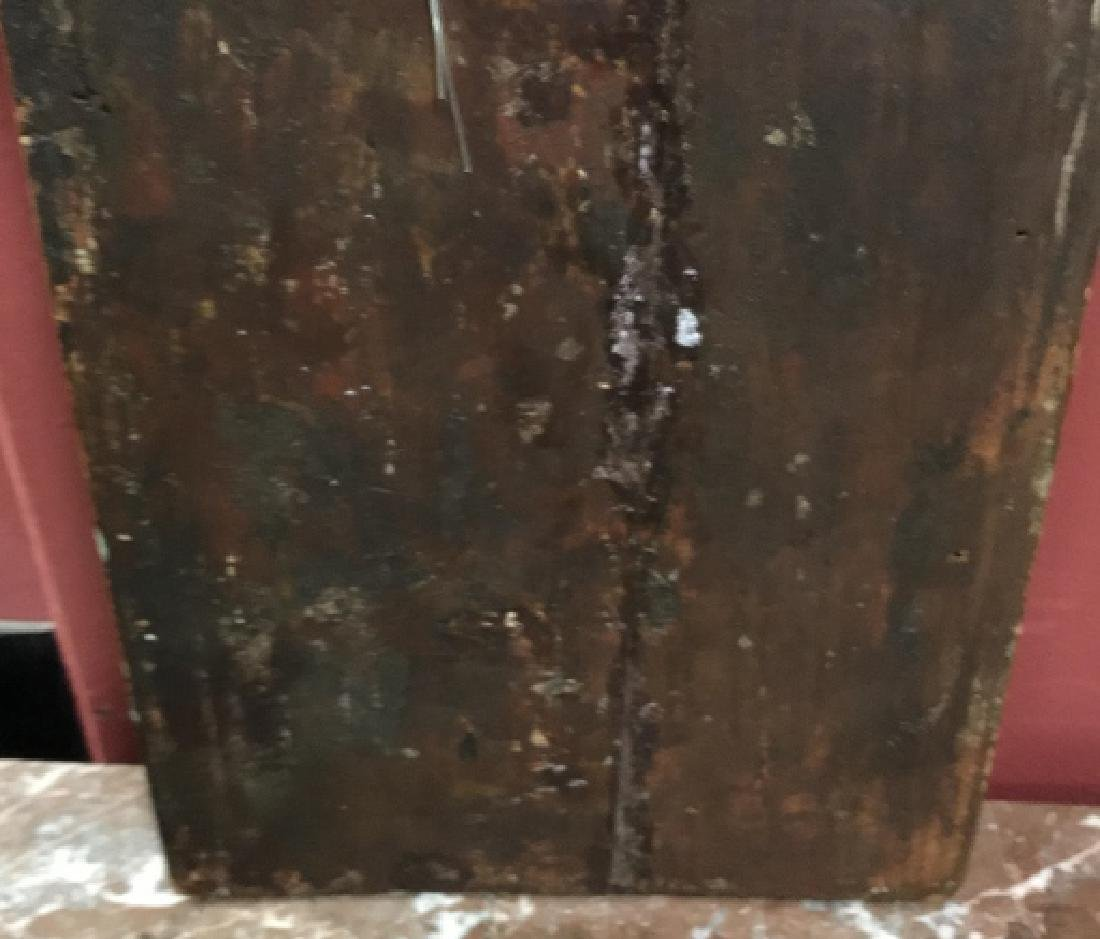 Antique 19th C Russian Icon of Unexpected Joy - 6