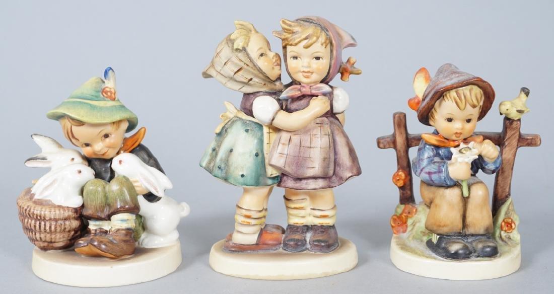 Three Hummel German Porcelain Figurines